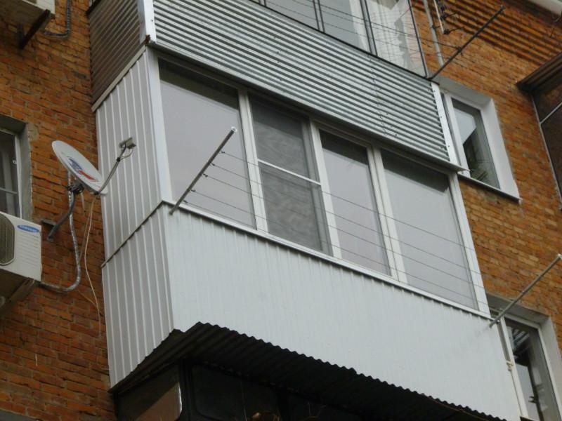 Расширение балконов фото.