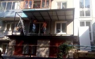 расширение балкона краснодар