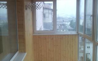 Внутренняя отделка балконов краснодар