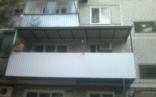 Расширение балконов в Краснодаре